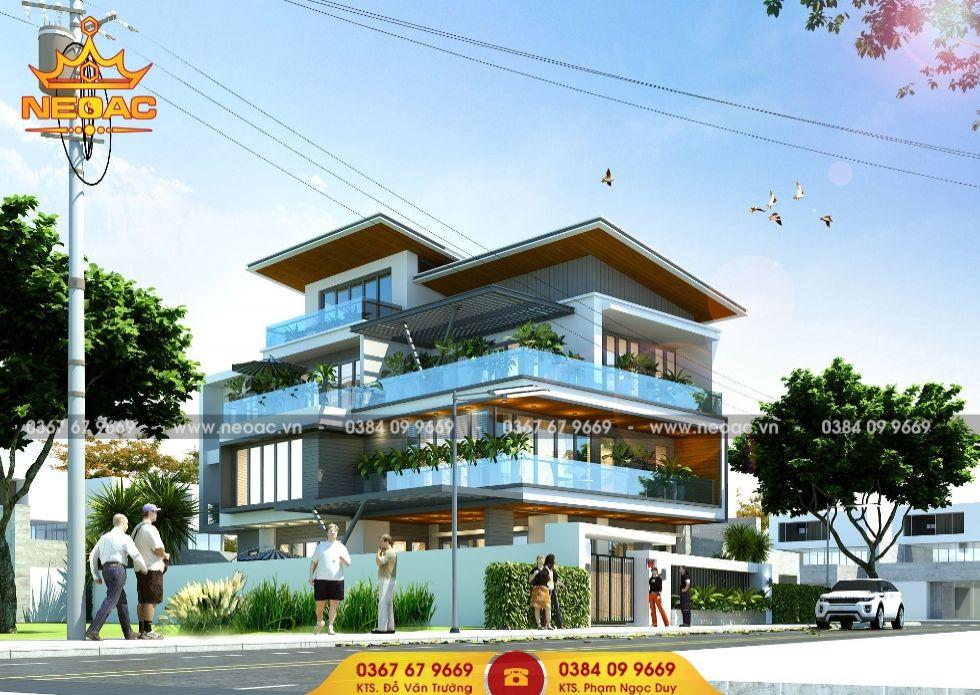 Công ty thiết kế biệt thự 3 tầng