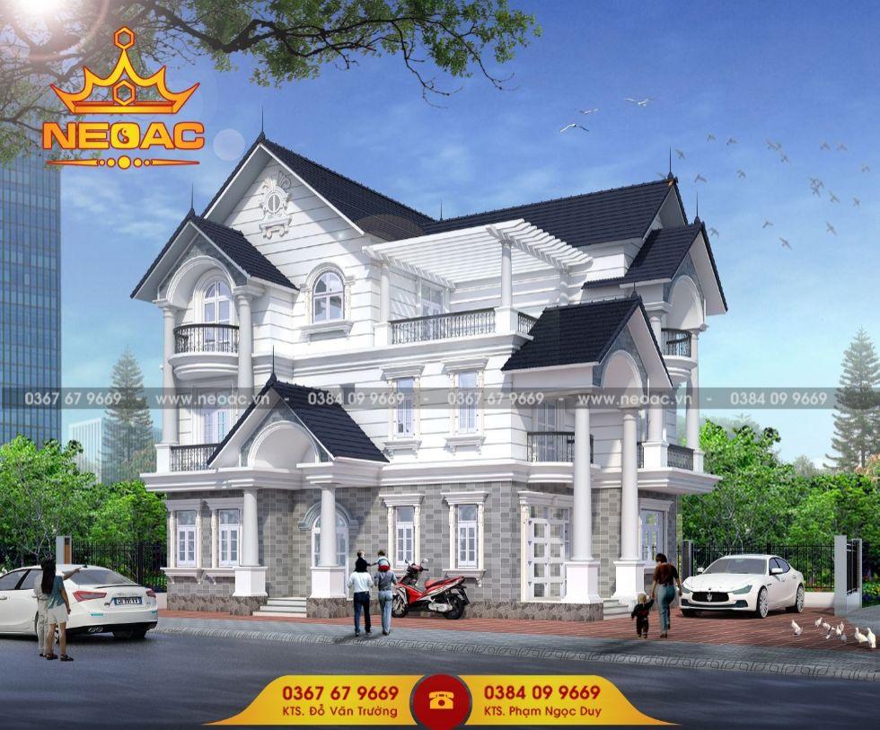 Xây dựng biệt thự 3 tầng