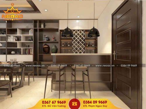 Công ty thiết kế nội thất nhà phố 3 tầng