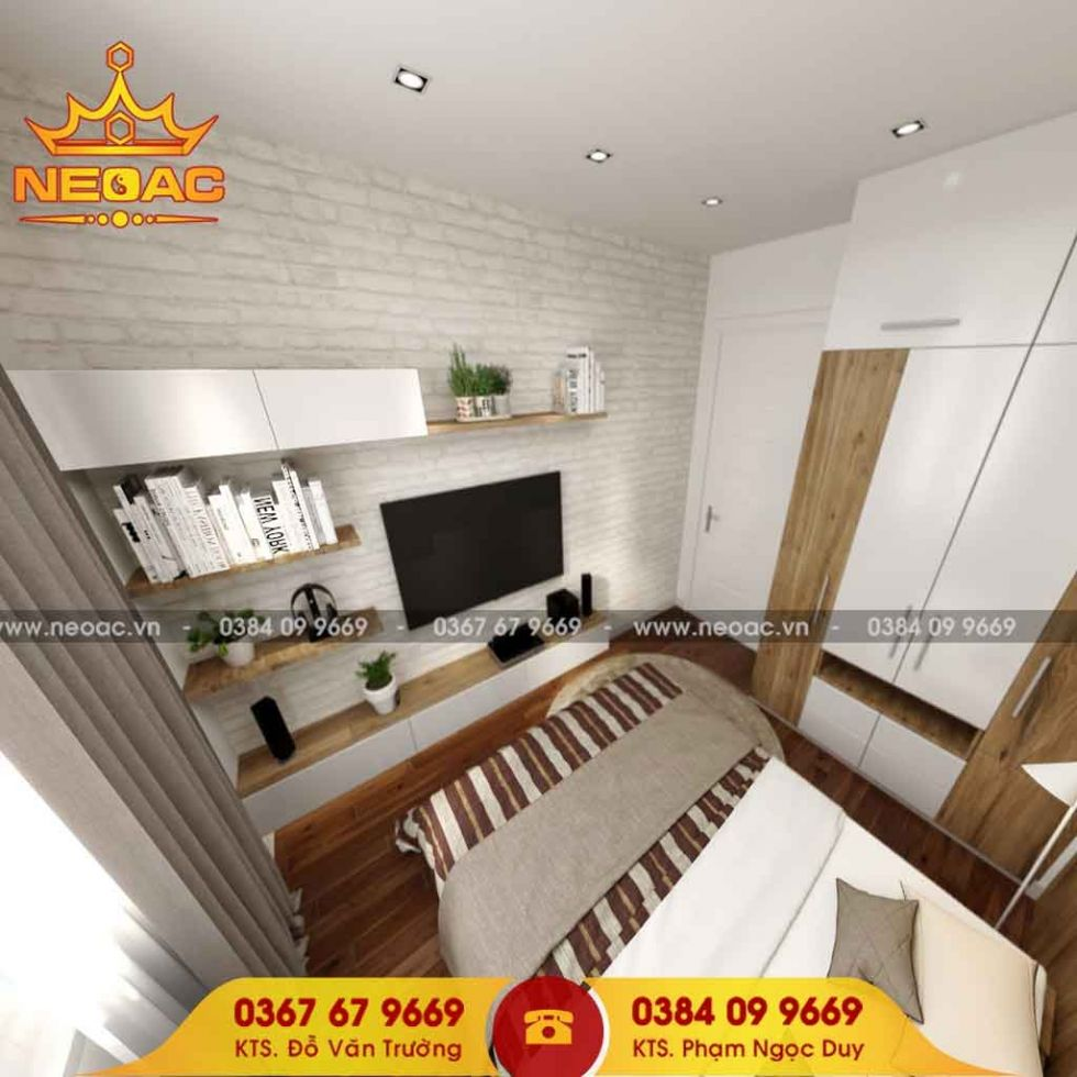 Dịch vụ thiết kế nội thất nhà phố 3 tầng