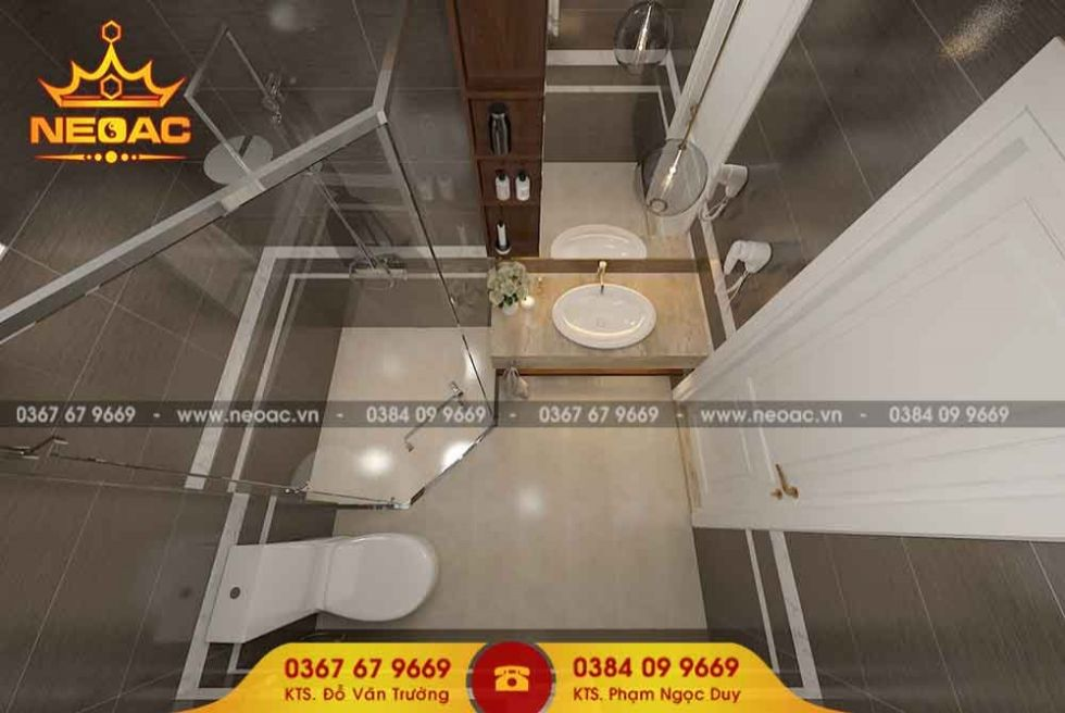 Dịch vụ thiết kế nội thất nhà phố 2 tầng