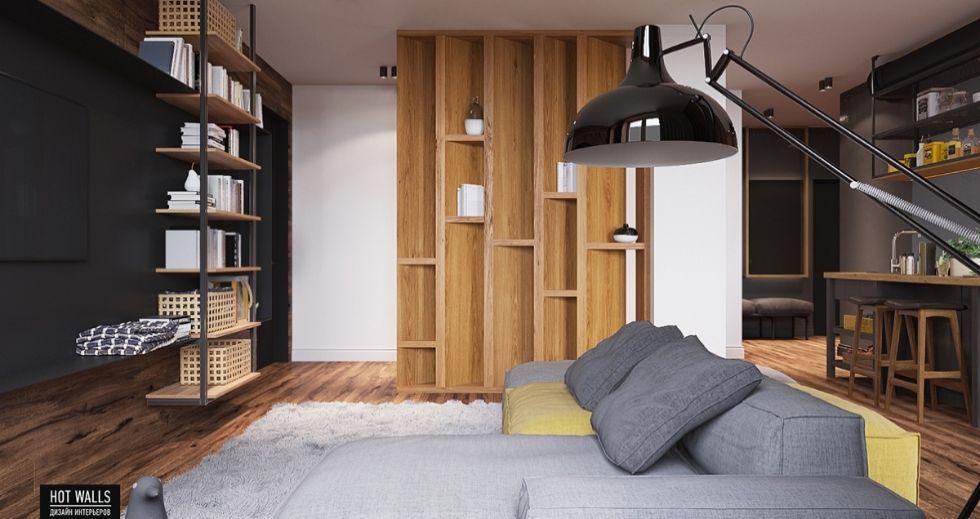 Mẫu nội thất nhà phố 2 tầng mặt tiền 7m