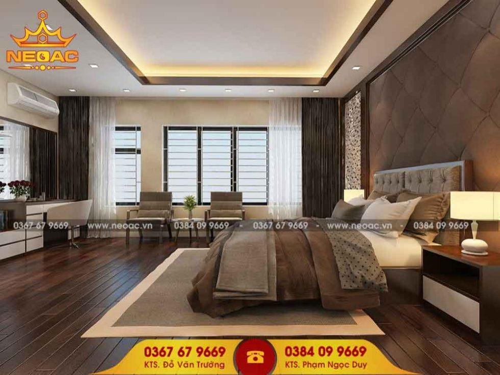 Công ty thiết kế nội thất nhà phố 4 tầng tại Bắc Từ Liêm, Hà Nội