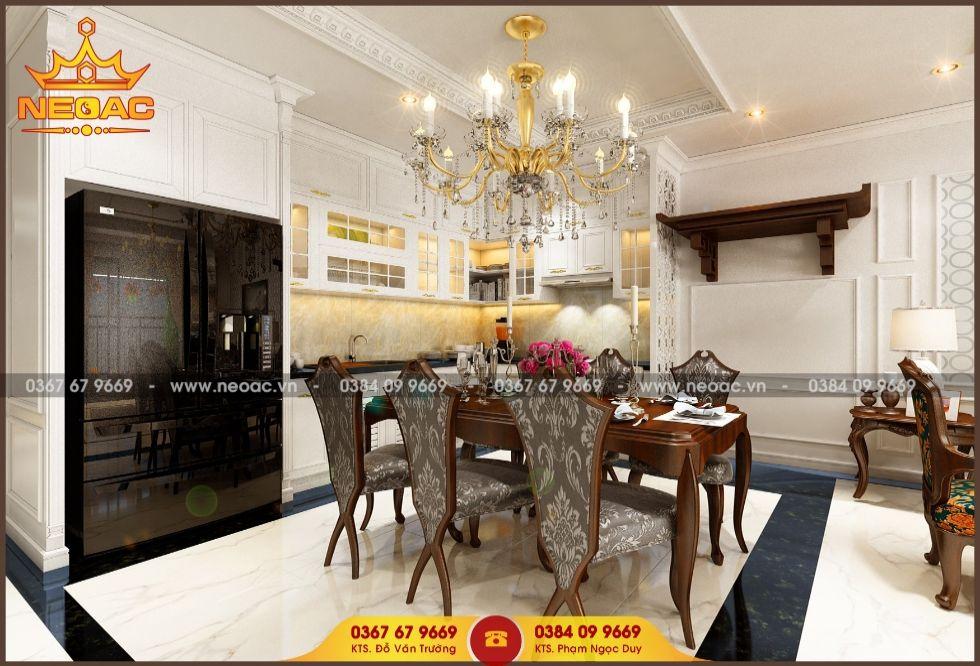 Công ty thiết kế nội thất nhà phố 2 tầng tại Hoàng Mai, Hà Nội