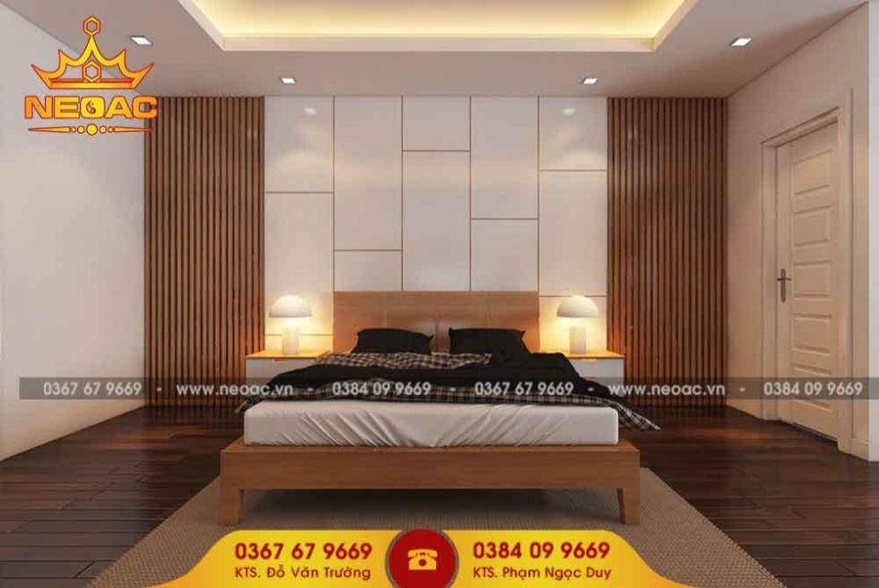 Công ty thiết kế nội thất nhà phố 2 tầng tại Thanh Xuân, Hà Nội