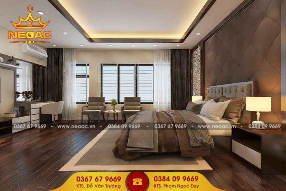 Mẫu nội thất nhà phố 2 tầng tại Hà Đông, Hà Nội