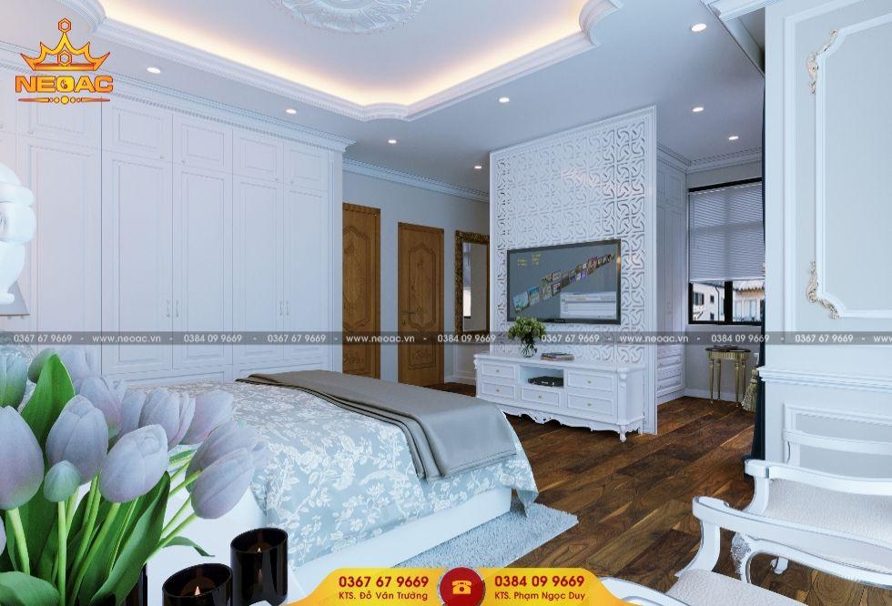 Mẫu nội thất nhà phố 2 tầng tại Hoàng Mai, Hà Nội