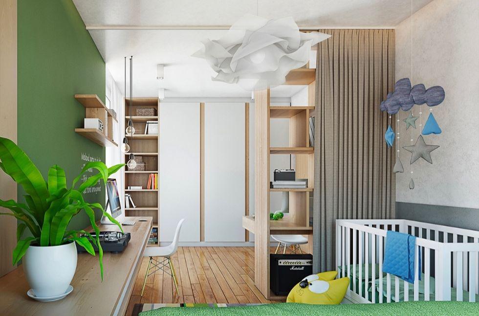 Mẫu nội thất nhà phố 3 tầng mặt tiền 5m