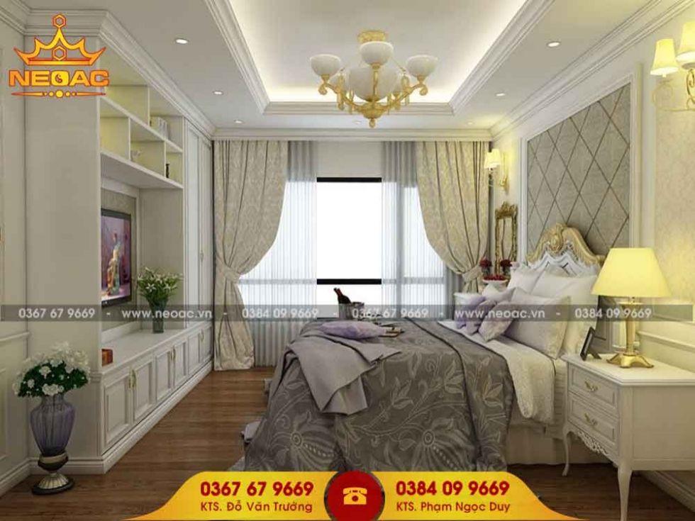 Công ty thiết kế nội thất nhà phố 3 tầng tại Đống Đa, Hà Nội