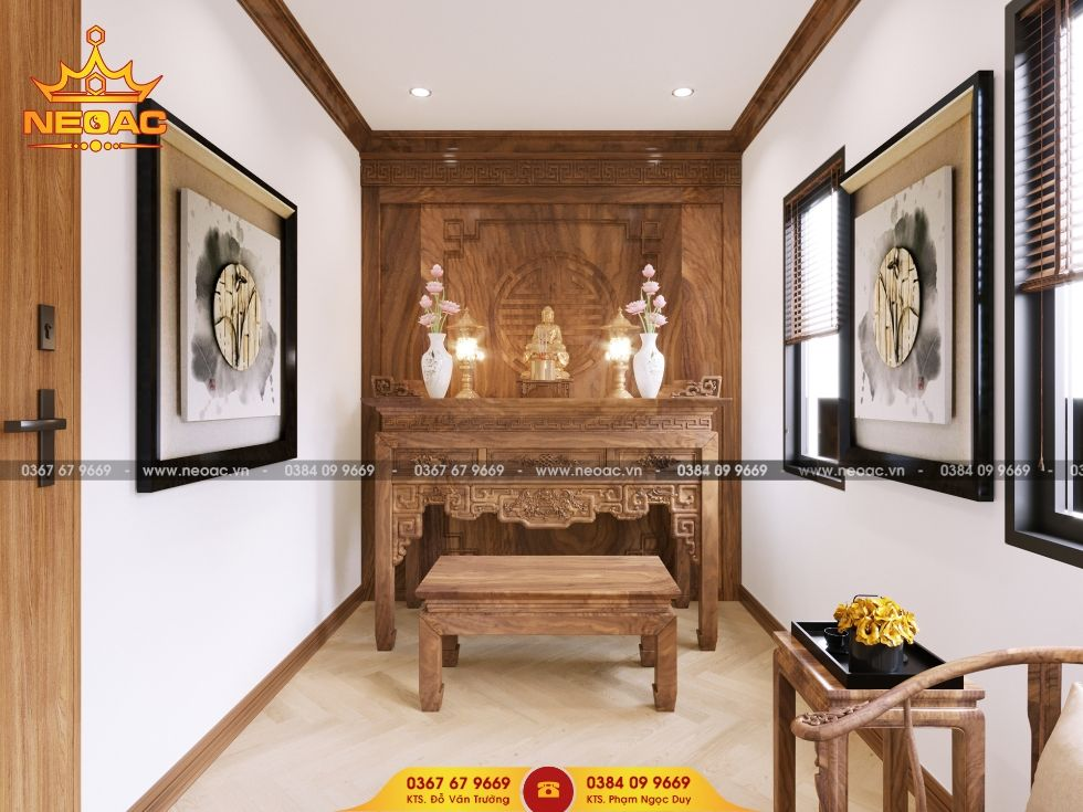 Mẫu nội thất nhà phố 3 tầng tại Bắc Từ Liêm, Hà Nội