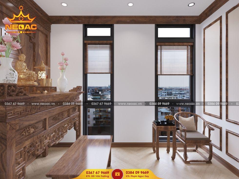 Công ty thiết kế nội thất nhà phố 3 tầng tại Cầu Giấy, Hà Nội