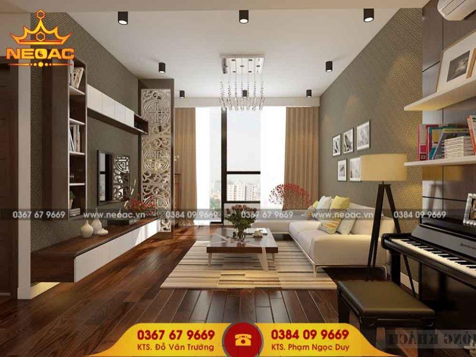 Công ty thiết kế nội thất nhà phố 3 tầng tại Thanh Xuân, Hà Nội