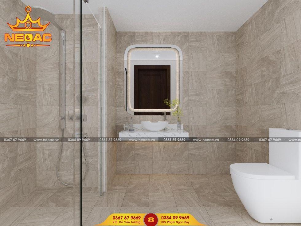 Công ty thiết kế nội thất nhà phố 3 tầng tại Long Biên, Hà Nội