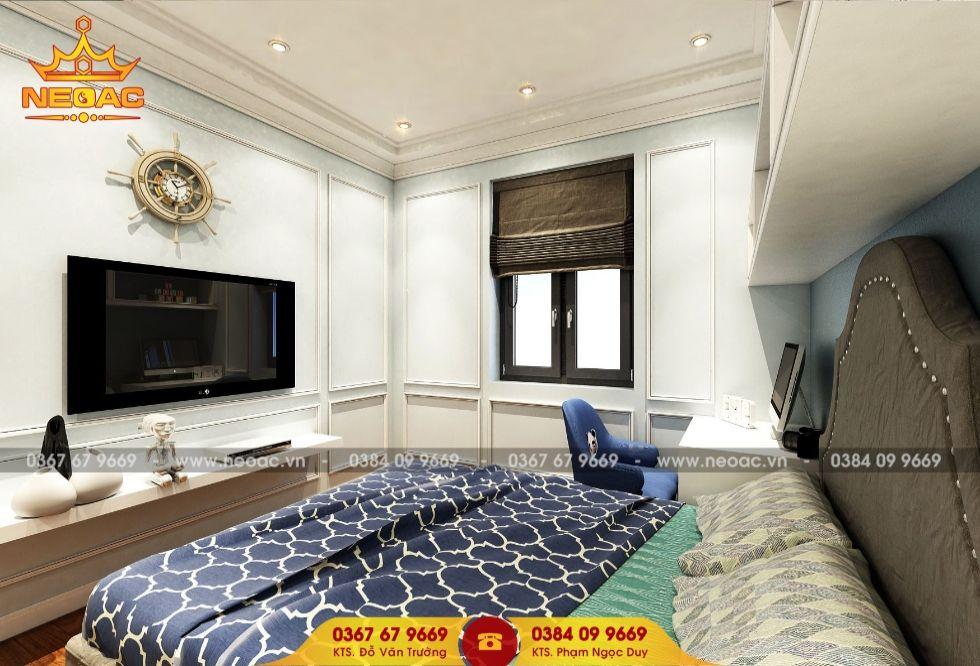 Dịch vụ thiết kế nội thất nhà phố 4 tầng