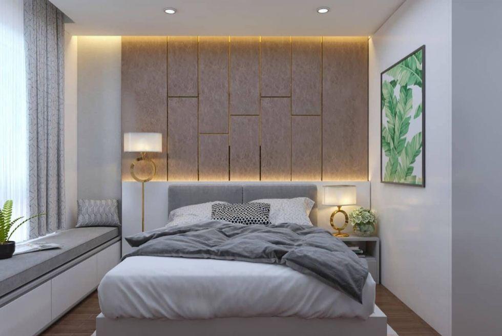 Mẫu nội thất phòng ngủ nhà phố 4 tầng