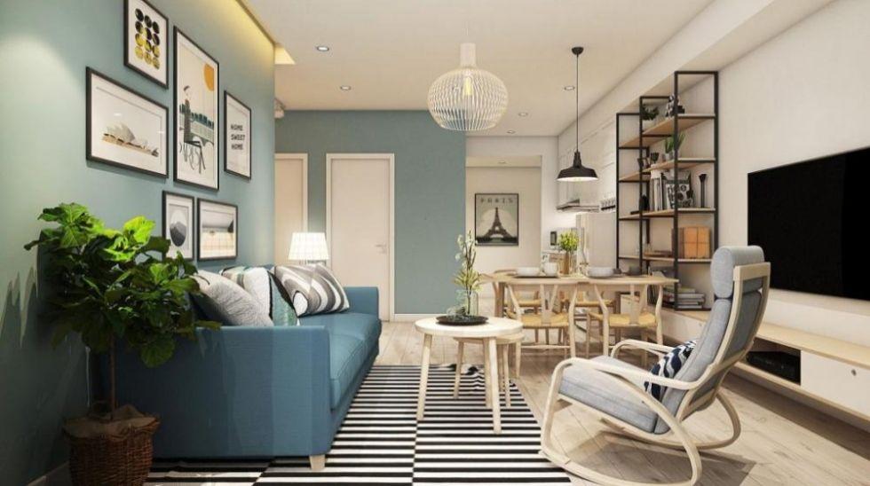 Công ty thiết kế nội thất nhà phố 4 tầng tại Hai Bà Trưng, Hà Nội