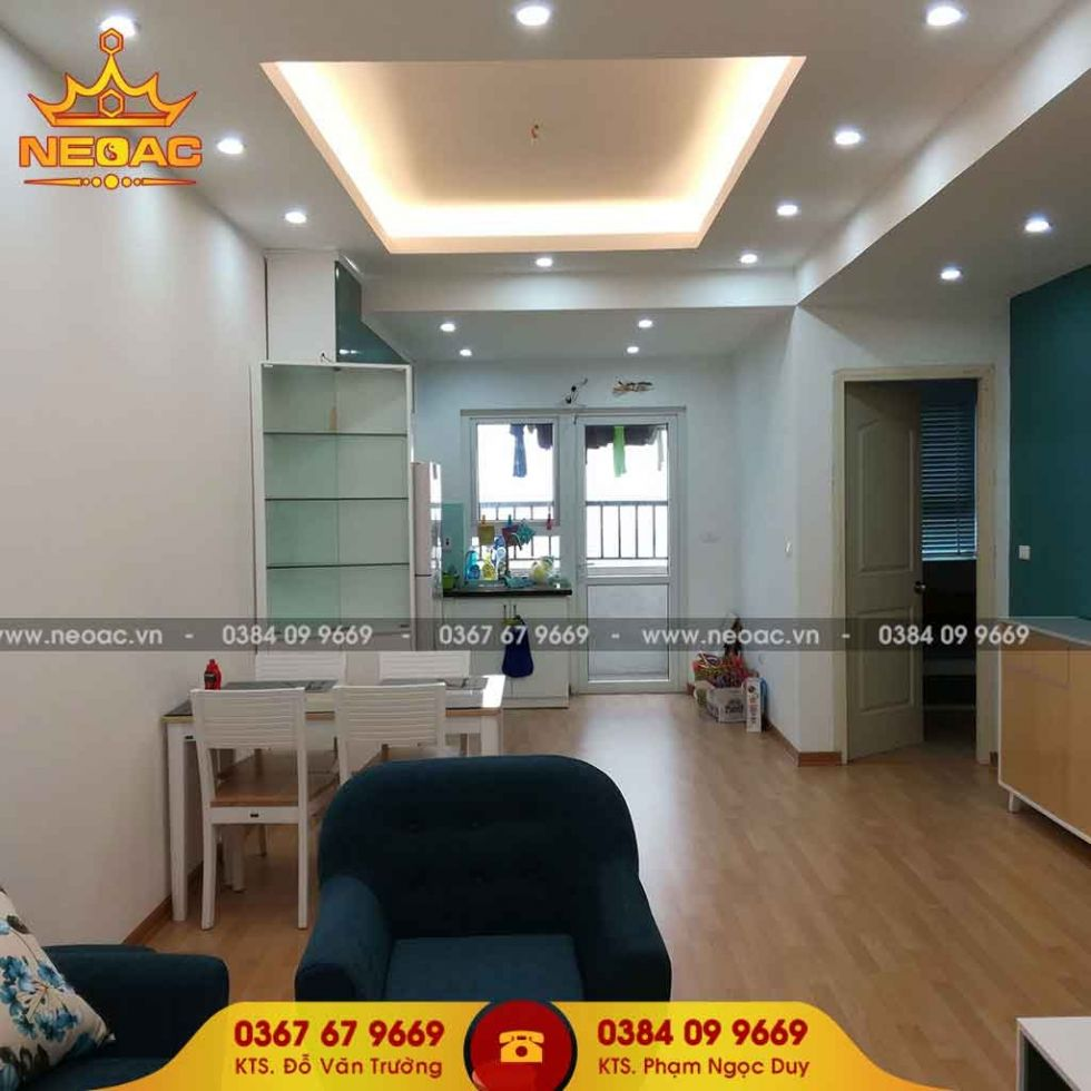 Công ty thiết kế nội thất nhà phố 4 tầng tại Nam Từ Liêm, Hà Nội