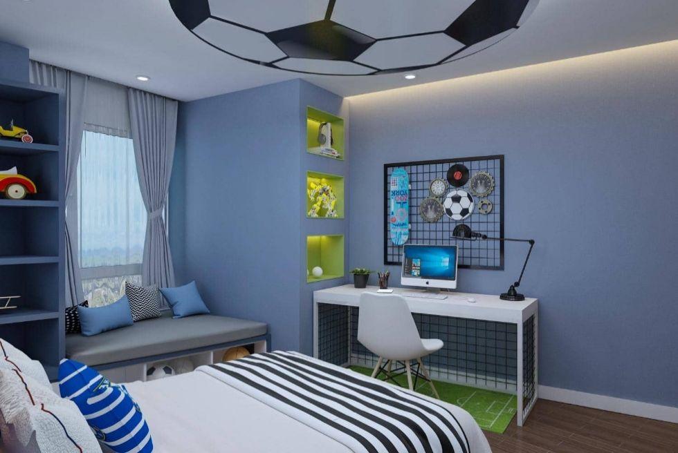 Mẫu nội thất nhà phố 4 tầng tại Long Biên, Hà Nội