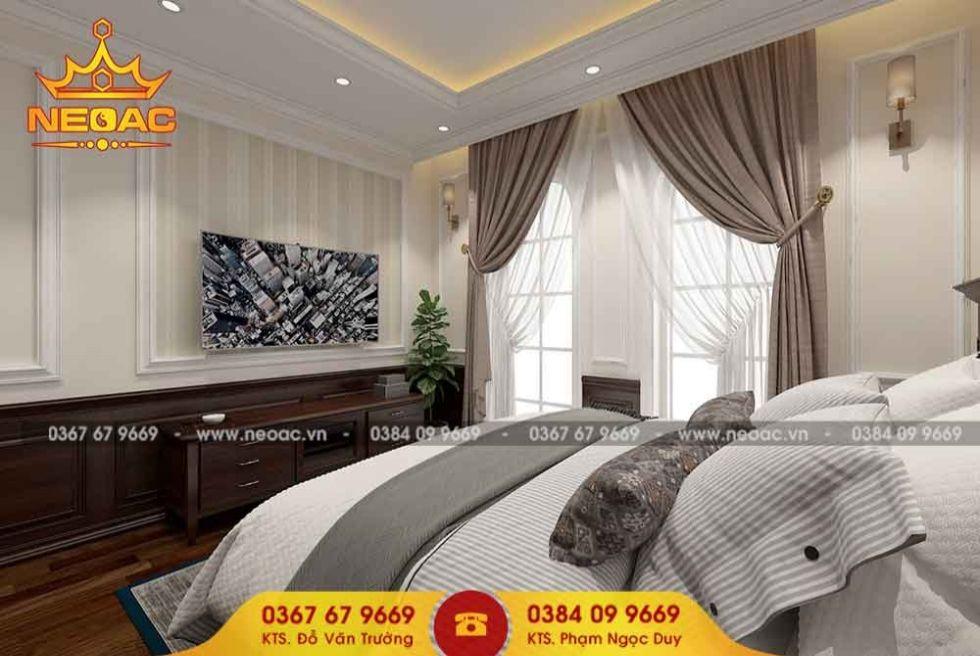 Công ty thiết kế nội thất nhà phố 4 tầng tại Hà Đông, Hà Nội