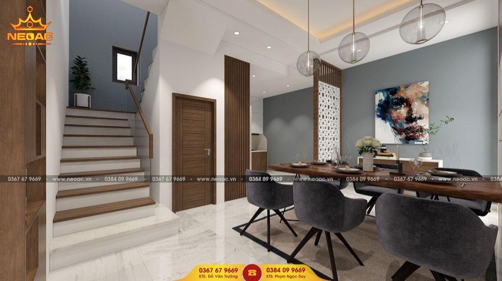 Mẫu nội thất nhà phố 3 tầng Cầu Giấy, Hà Nội