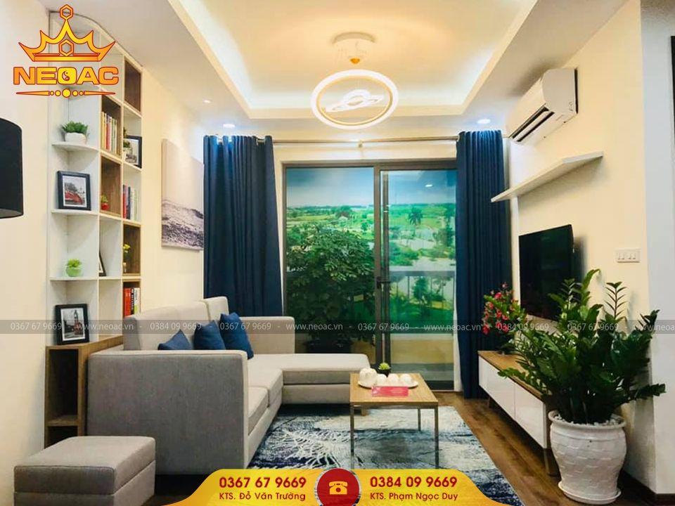 Mẫu nội thất nhà phố 3 tầng tại Hai Bà Trưng, Hà Nội