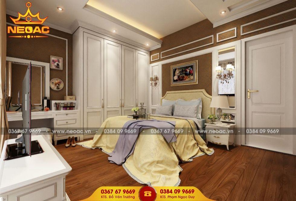 Công ty thiết kế nội thất nhà phố 5 tầng tại Bắc Từ liêm, Hà Nội