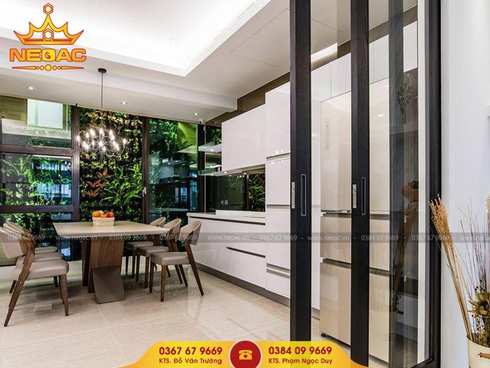 Công ty thiết kế nội thất nhà phố 5 tầng tại Ba Đình, Hà Nội
