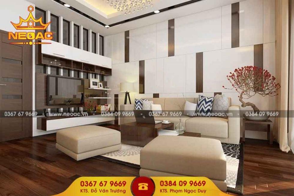 Công ty thiết kế nội thất nhà phố 5 tầng tại Nam Từ Liêm, Hà Nội