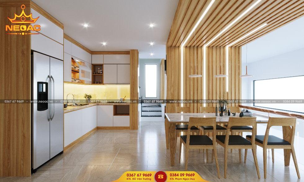 Công ty thiết kế nội thất nhà phố 5 tầng