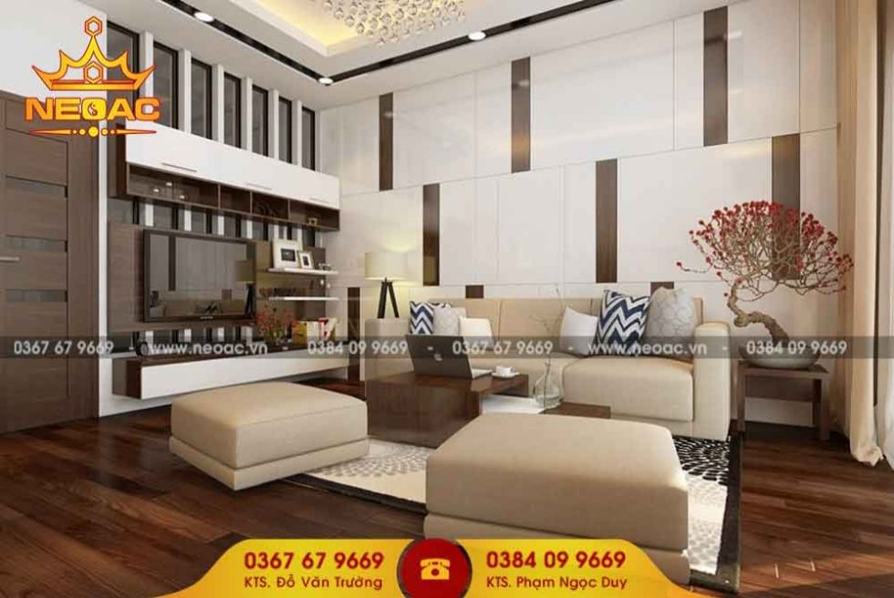 Mẫu nội thất nhà phố 5 tầng tại Đống Đa, Hà Nội