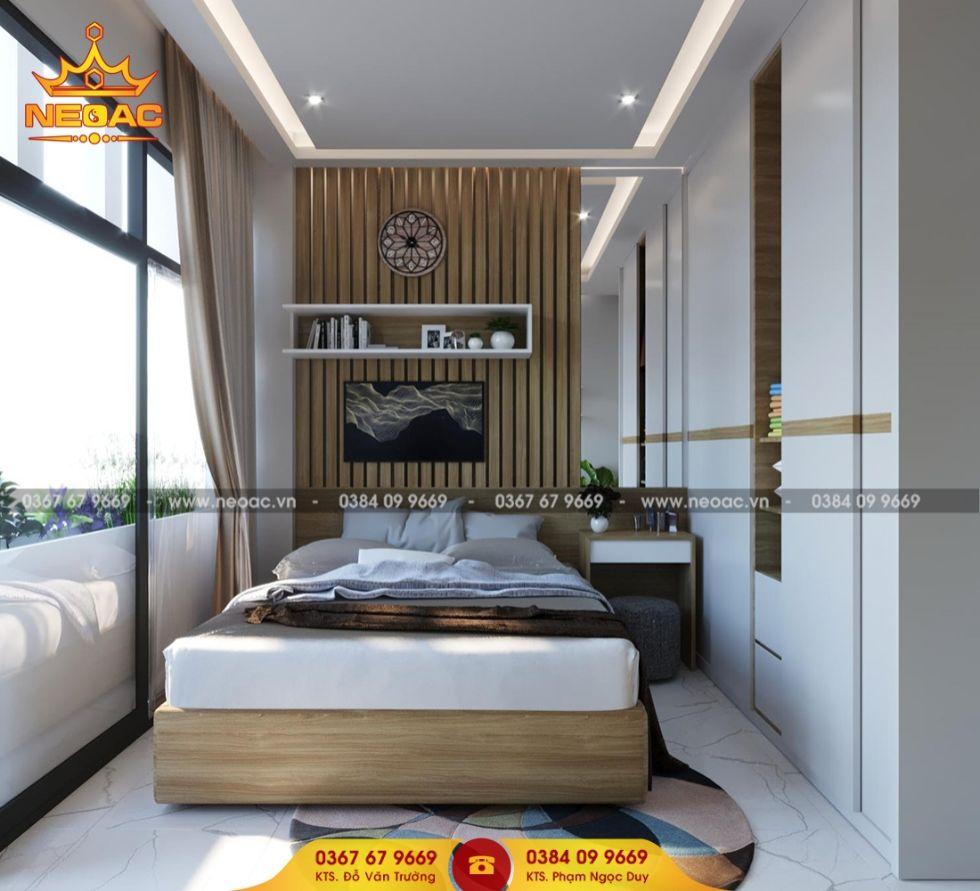 Mẫu nội thất nhà phố 5 tầng mặt tiền 3m2