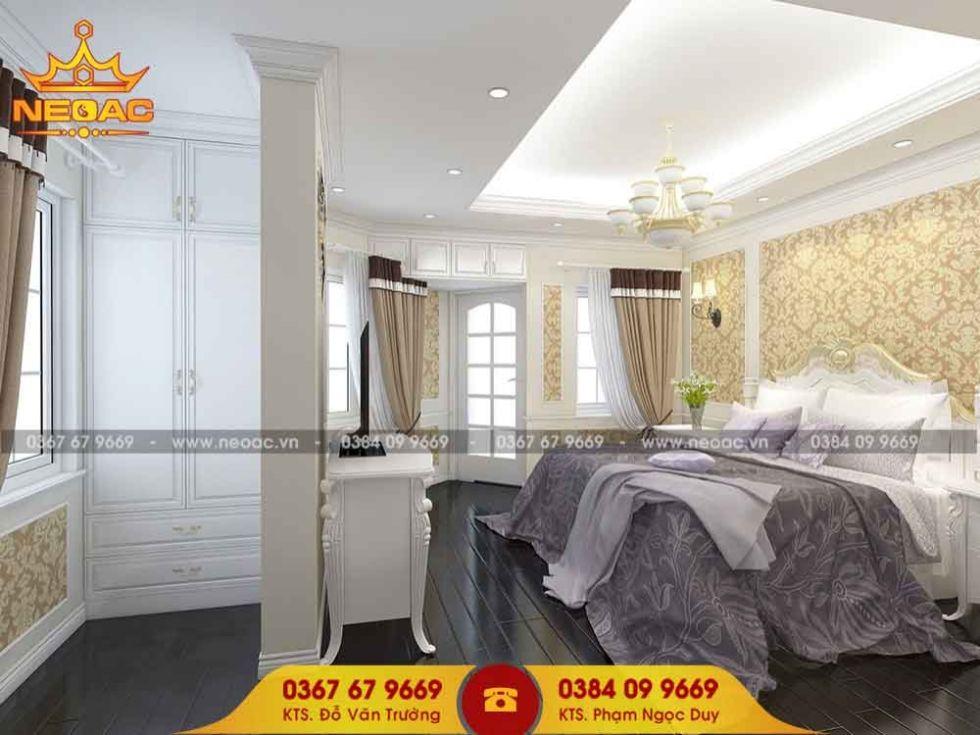 Mẫu nội thất nhà phố 4 tầng tại Hai Bà Trưng, Hà Nội