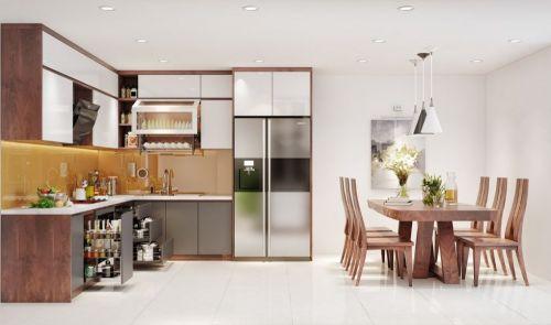 Công ty thiết kế nội thất nhà phố 5 tầng tại Hoàng Mai, Hà Nội