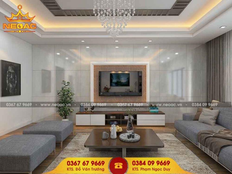 Công ty thiết kế nội thất nhà phố 5 tầng tại Hà Đông, Hà Nội