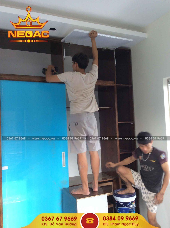 Công ty thiết kế nội thất nhà phố 5 tầng tại Hai Bà Trưng, Hà Nội