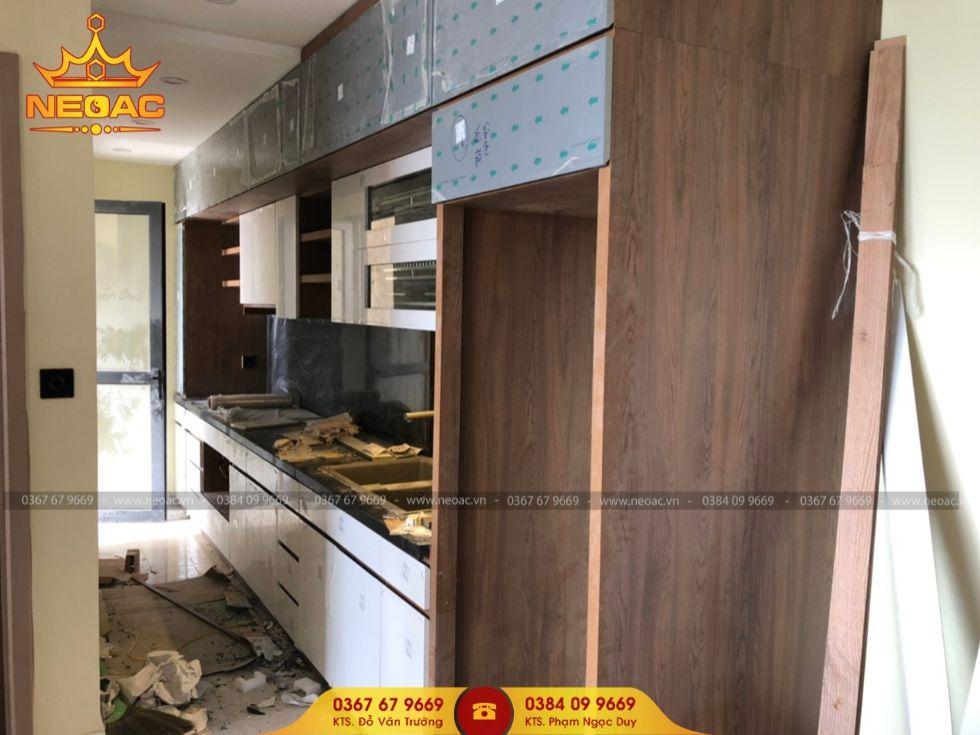Công ty thiết kế nội thất nhà phố 5 tầng tại Cầu Giấy, Hà Nội