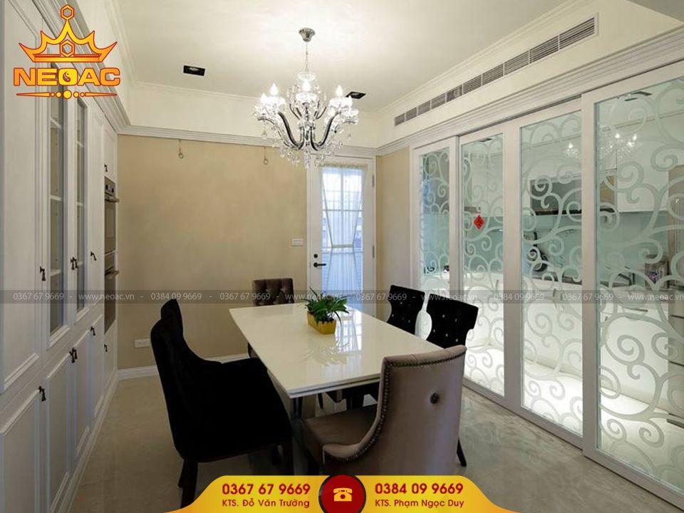 Mẫu nội thất nhà phố 5 tầng tại Hà Đông, Hà Nội