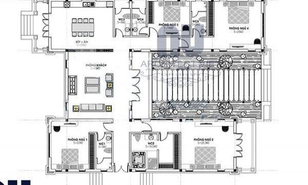Xin mẫu bản vẽ nhà Mái Thái