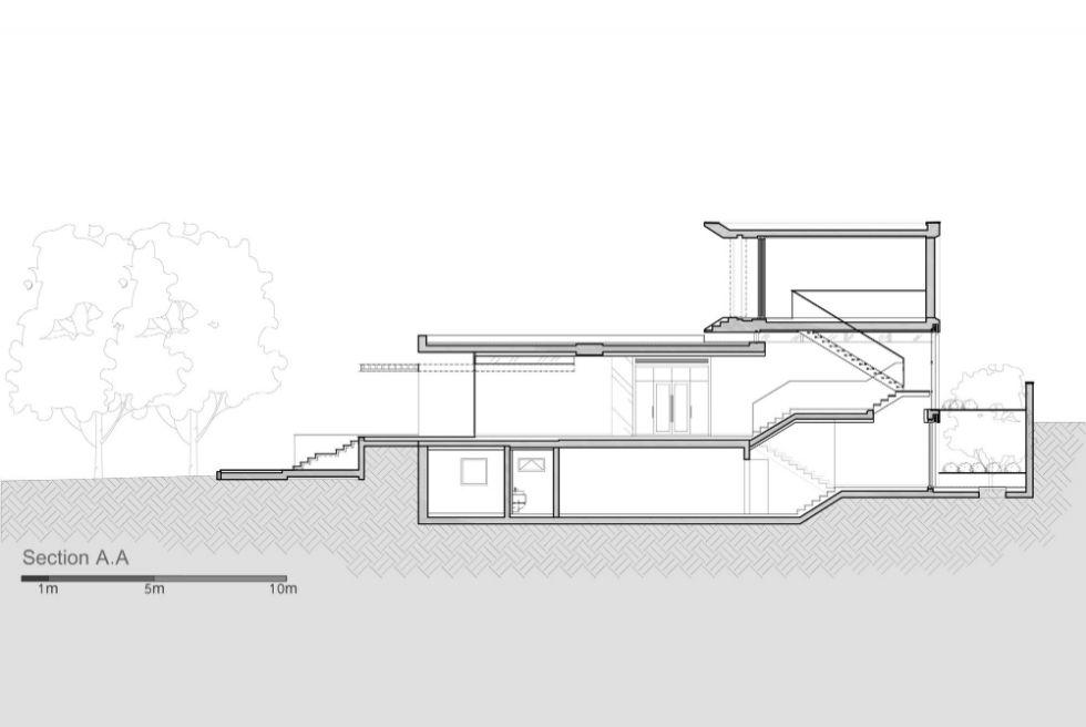 Mẫu biệt thự 2 tầng chữ L
