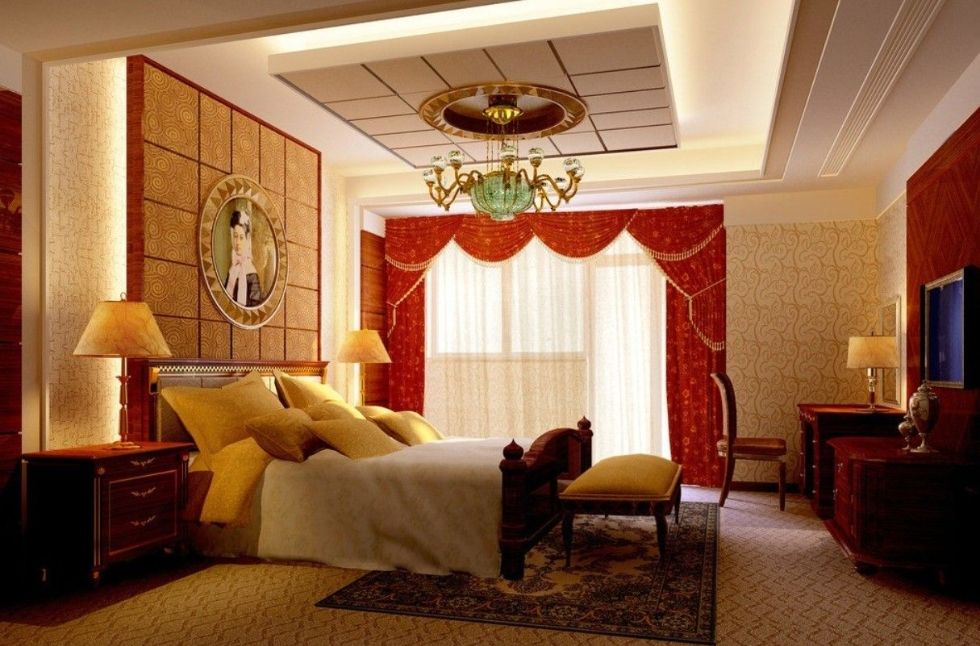 Mẫu thiết kế nội thất chung cư cổ điển 2 phòng ngủ