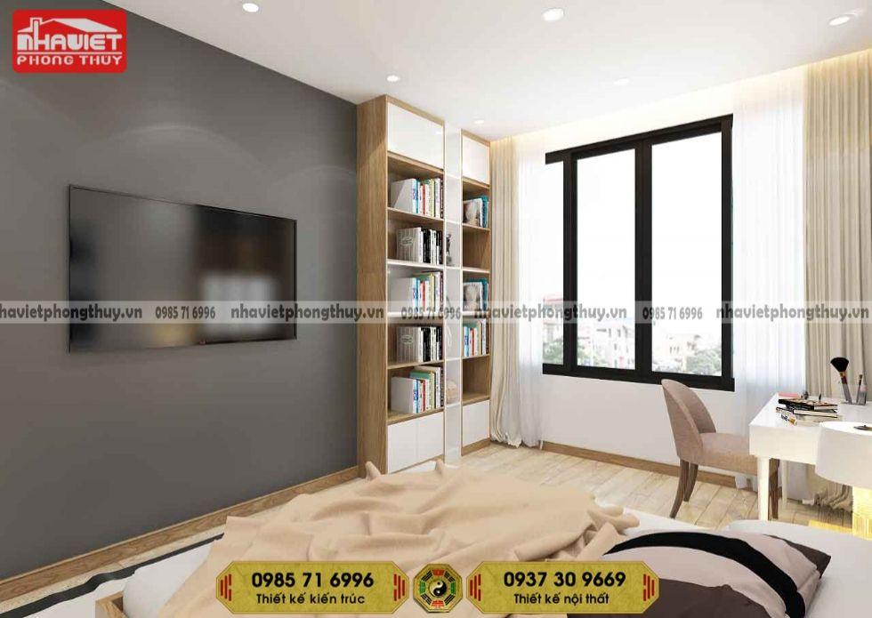 Mẫu thiết kế nội thất chung cư hiện đại 2 phòng ngủ 65m2