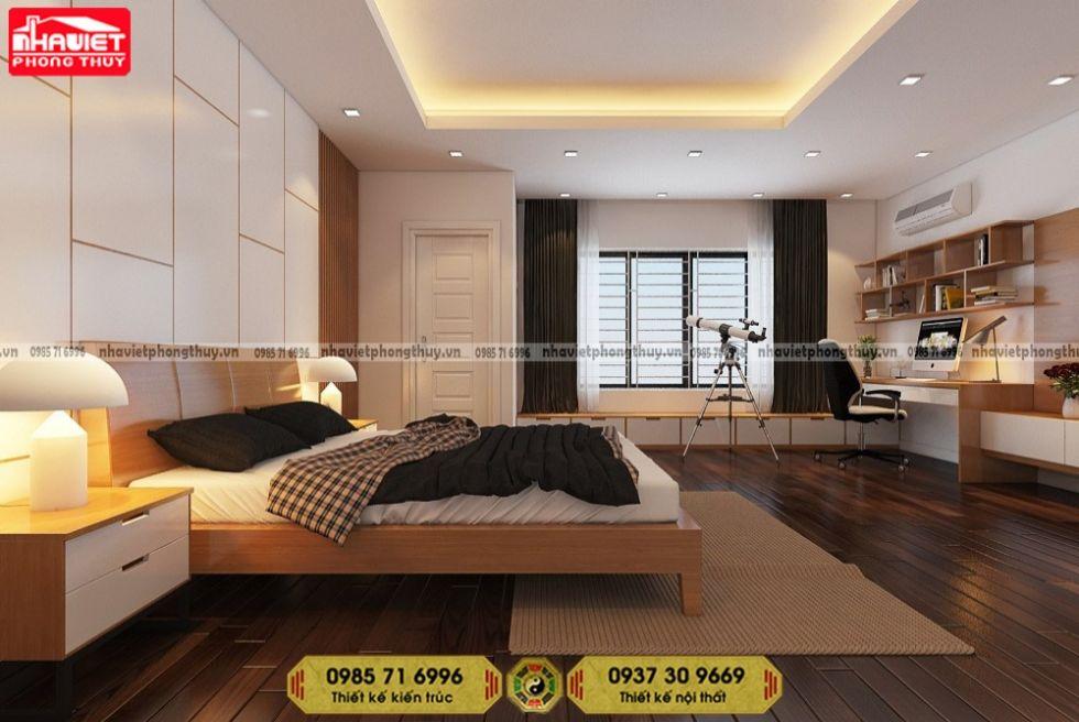 Thiết kế nội thất hiện đại 80m2 Sun Grand City Láng Hạ 2 phòng ngủ