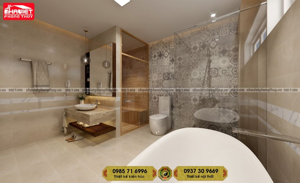 Thiết kế nội thất chung cư tân cổ điển Sun Grand City Thụy Khuê