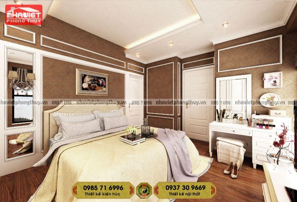 Thiết kế nội thất tân cổ điển 3 phòng ngủ Vinhomes West Point