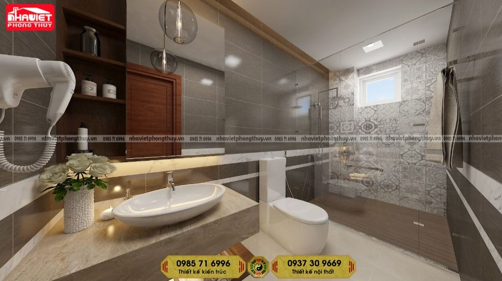 Công ty thiết kế nội thất chung cư hiện đại 2 phòng ngủ 80m2