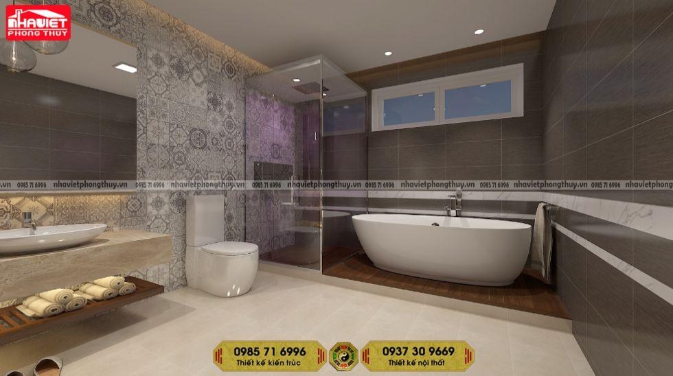 Công ty thiết kế nội thất chung cư tân cổ 2 phòng ngủ 95m2