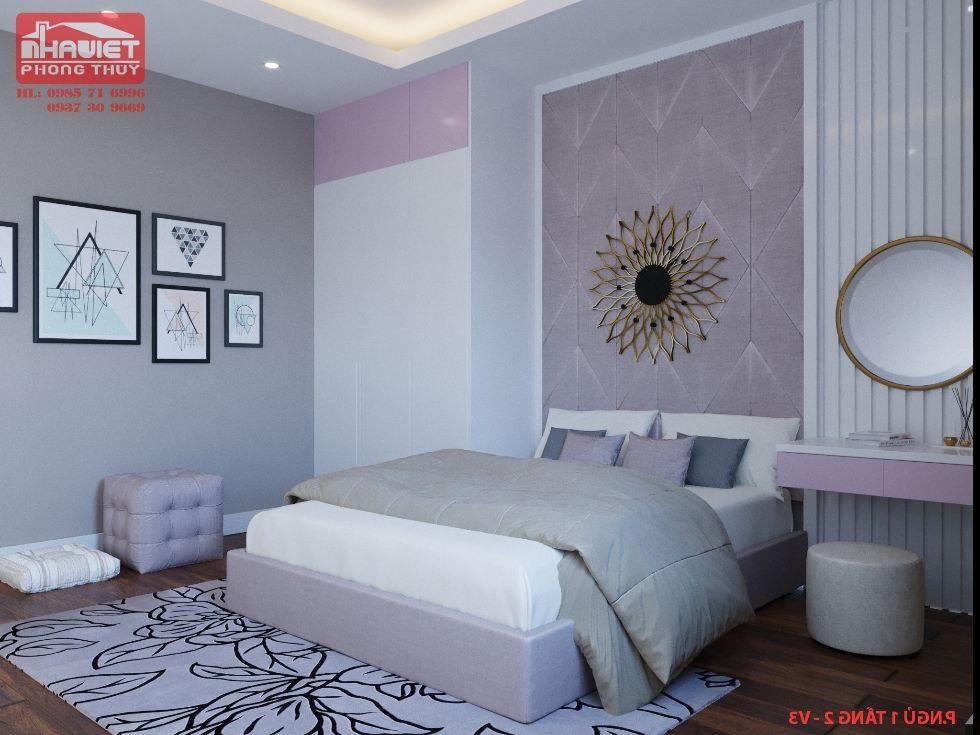 Công ty thiết kế nội thất chung cư tân cổ 3 phòng ngủ 100m2