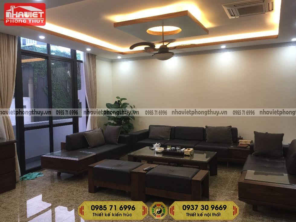 Công ty thi công nội thất chung cư hiện đại 2 phòng ngủ 75m2