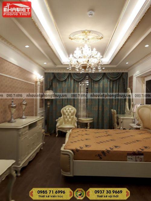 Công ty thi công nội thất chung cư tân cổ điển 2 phòng ngủ 95m2