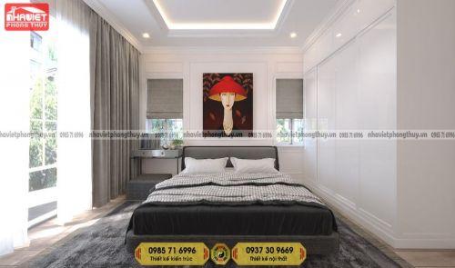 Lưu ý kê giường phòng ngủ cho người mệnh Thổ